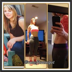 Hard to believe but that's me on all 3 pics!!!