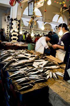 Fish Market in Sousse, Tunisia