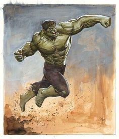 The Hulk by Adi Granov