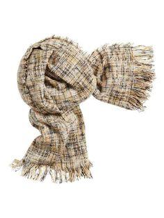 6f2e11ce9d9 Damesmode, Sandwich_ sjaal een warme aanwinst voor de koudere dagen De  gemixte sjaal in de