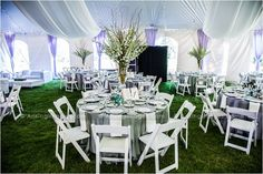 Amazing wedding tent Colonial Events and awesome decor! #wedding #tent #decor #perfect
