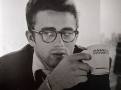 """ James Dean photographed by Dennis Stock. """