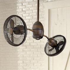 "36"" Minka Aire Gyrette Restoration Bronze Ceiling Fan"