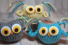 Knitting Pattern Owls  Tufty Owl Amigurumi  por SweetBauerKnits