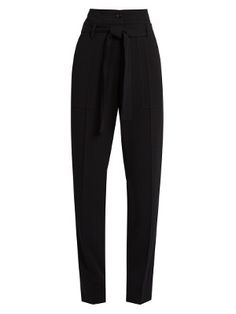Espagny high-rise tapered-leg crepe trousers | Vanessa Bruno | MATCHESFASHION.COM US
