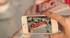 Lacta App Lets You Personalize Chocolate Bars With Augmented Reality #Valentines #Love
