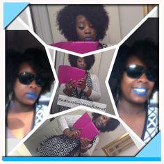 Blue lips! Twist Out