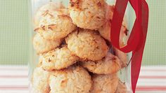 Coconut cookies with thermomix Popular Cookie Recipe, Cookie Recipes, Dessert Recipes, Tea Recipes, Yummy Recipes, Coconut Cookies, Coconut Macaroons, Healthy Cookies, Gourmet