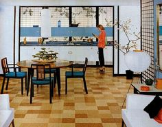Cork floors 1955