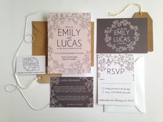 The Secret Garden Suite By Pear Paper Co