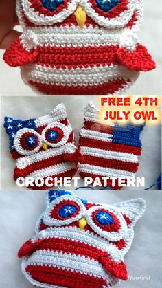 (notitle) - All Crochet Pattern - Leads For Amigurumi Owl Crochet Patterns, Crochet Owls, Owl Patterns, Crochet Gifts, Crochet Stitches, Crochet Baby, Free Crochet, Crochet Owl Purse, Crochet Letters Pattern
