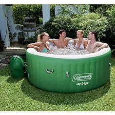 Coleman Lay-Z-Spa Inflatable Bubble Spa