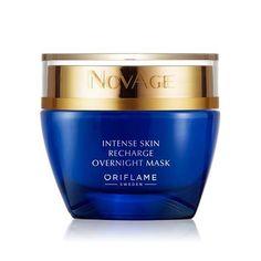 Set Novage Intense Aναζωογονητική Μάσκα Νύχτας με σπάτουλα μάσκας προσώπου - Oriflame-anni.gr