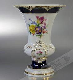 Meissen Vase 1. Wahl Höhe 18,5 cm**