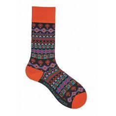 Black Santa Fe Socks (Mens)