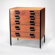 Chest of drawers. Design Ico Parisi, Luisa Parisi   Manufacturer Mobili Italiani Moderni (attribution)