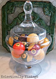 Eclectically Vintage: Vinage Billiard Balls
