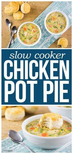The best Chicken Pot Pie recipe!