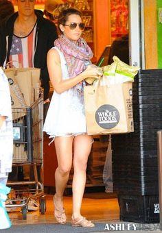 Ashley tisdale #wholefoods