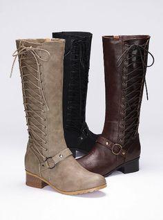 Side-lace Riding Boot - Colin Stuart - Victoria's Secret