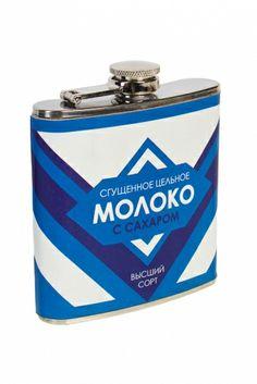 Фляжка для напитков «Сгущенное молоко»