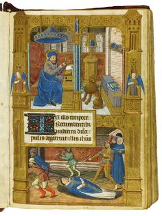 The Hours of Tanneguy IV du Chastel, Use of Rome, in Latin and French [France (Paris), c.1470s] | lot | Sotheby's