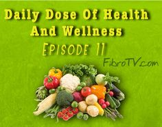 "Your FREE weekly podcast is NOW ready to watch or listen to!!!    Daily Dose of Health and Wellness Epi #11 Listening To Our ""Gut Feeling"" For Our Health  In todays episode of The Daily Dose of Health and Wellness we talk about the natural ability that we all have to follow our intuition or 'gut feeling"" to benefit our health and aid us in symptom management when it comes to our chronic conditions. Also we talk about the dangers of ignoring new symptoms. (Click on the picture to listen!"