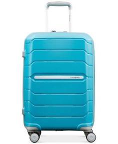 "Samsonite Freeform 21"" Carry-On Expandable Hardside Spinner Suitcase - Blue"