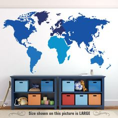 World map wall decal outlines countries world map wall art sticker world map wall decal outlines countries world map wall art sticker vinyl chalkboard black board borders boundaries k295b pinterest wall decals gumiabroncs Gallery