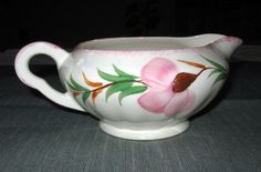 Image detail for -Blue Ridge Southern Potteries SWEET PEA Gravy Boat, Colonial, Pink ...