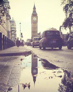 Random shot of Big Ben in the typical British weather!