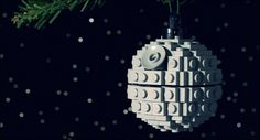 Or a LEGO Death Star ornament.   33 Adorable And Creative DIY Ornaments