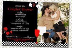 Wine Themed Shower/Wedding Invitation by elenasshop on Etsy