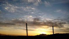 Ultimo atardecer 2015 captado rumbo a Pichasca #Findeaño #Pichasca #RioHurtado