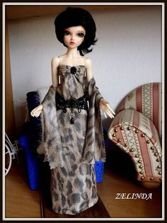 1/4 BJD Evening dresses Free shipping