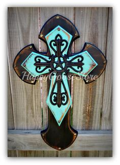 Hey, I found this really awesome Etsy listing at http://www.etsy.com/listing/157958559/medium-wall-cross-antiqued-black-and