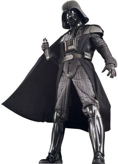 Get this authentic Darth Vader costume to complete your Star Wars group costume. This authentic Darth Vader costume is a movie quality replica Star Wars costume for adults. Darth Vader Star Wars, Adult Darth Vader Costume, Darth Vader Suit, Star Wars Costumes, Adult Costumes, Halloween Costumes, Halloween Ideas, Costumes Kids, Disney Costumes