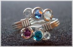 Adjustable Mother's Ring | JewelryLessons.com. Another gorgeous creation.