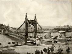 Budapest, Elizabeth Bridge in 1903.