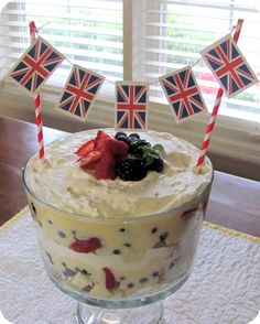 English Trifle!  Dessert for the Closing Ceremonies! :-)