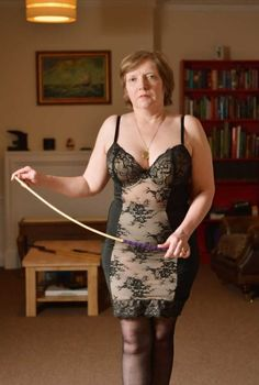 German Hot Bitch in Stockings Femdom and Fuck older Man