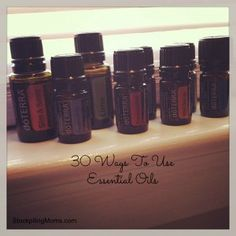 30 Ways To Use Essential Oils  http://www.stockpilingmoms.com/2013/03/3-ways-to-use-essential-oils/