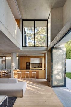 Nobbs Radford Architects have designed the Glebe House in Sydney, Australia.