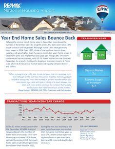 Remax National Housing Report Jan 2015 by Marius Mitrofan via slideshare