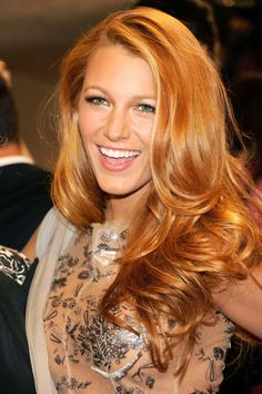15 strawberry blonde hair colors to try this fall: Blake Lively