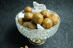 Peanut Butter Protein Bliss Balls are the perfect little gluten free, vegan snack to go, after sports or as a small afternoon snack in the office.