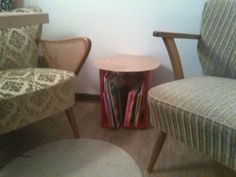 Colakisten Tisch- Upcycling! Dining Chairs, Furniture, Home Decor, Crate, Upcycled Crafts, Dinner Chairs, Homemade Home Decor, Dining Chair, Home Furnishings
