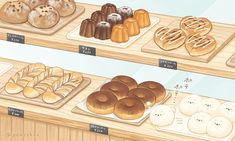 Cute Food Drawings, Cute Kawaii Drawings, Kawaii Art, Cute Food Art, Cute Art, Cute Cartoon Wallpapers, Cute Anime Wallpaper, Aesthetic Food, Aesthetic Anime