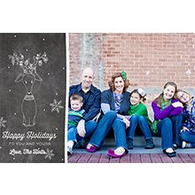 Christmas card layouts from Project Life Becky Higgins