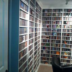 Wonderful CD shelves